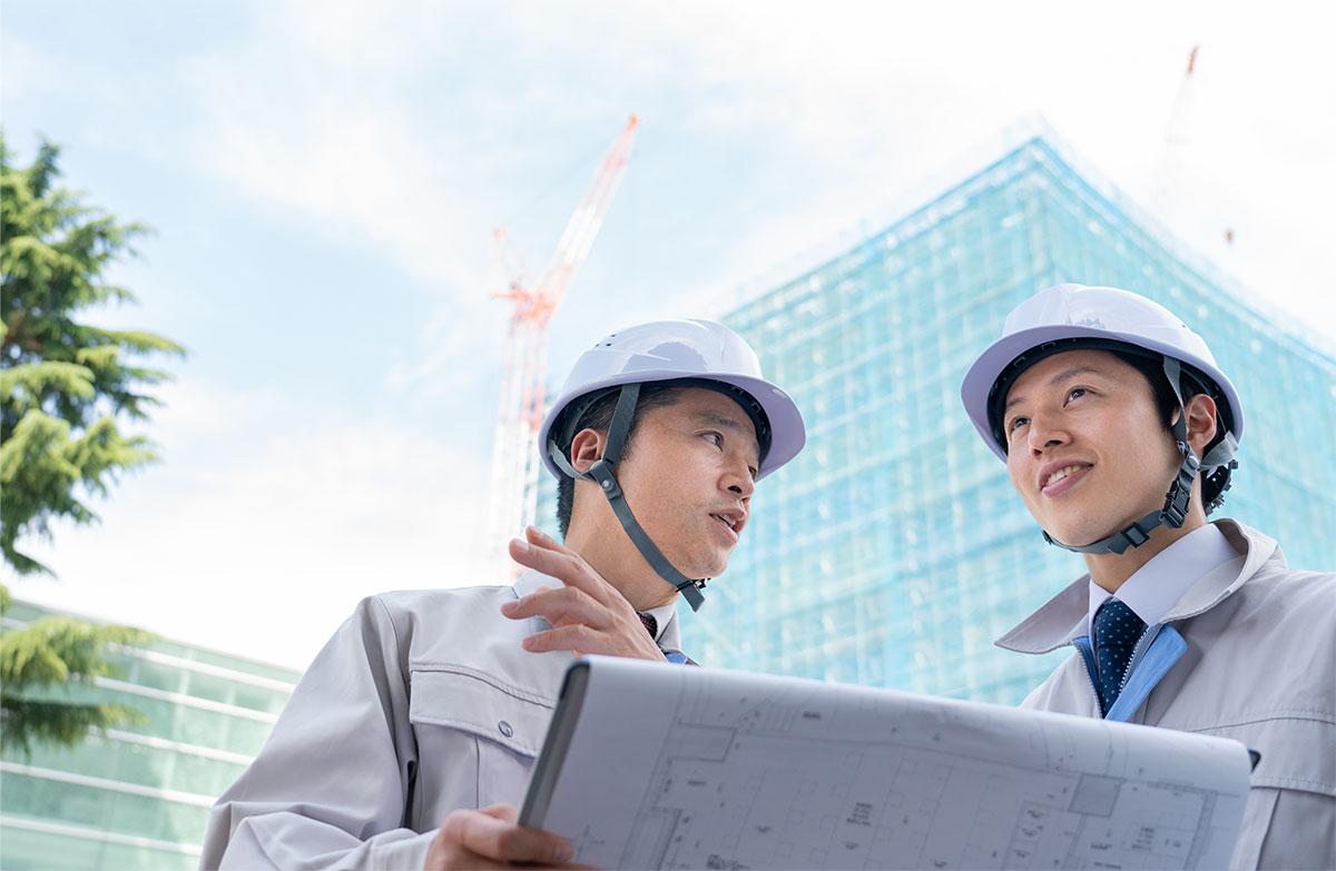 建築施工管理のイメージ写真