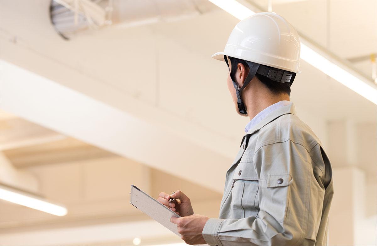 内装施工管理のイメージ写真